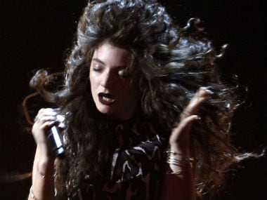Lorde during a concert performance. Reuters