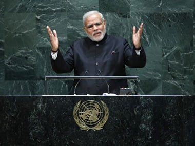 PM Modis powerful speech at the UN blends tough realism and hope