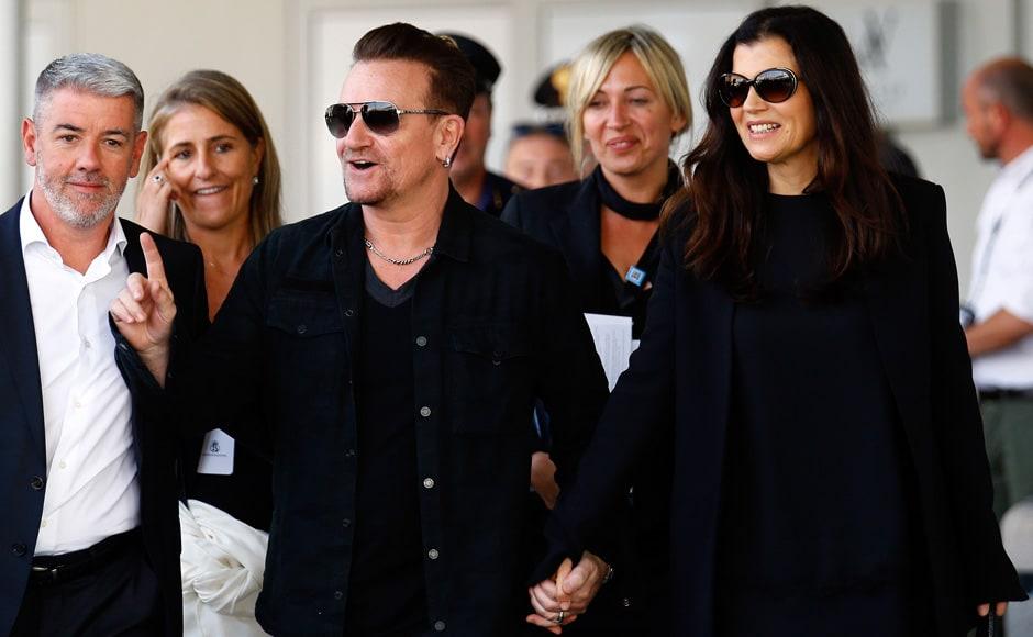 Photos: Clooney and Amal stun Venice with a star-studded