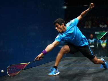 File image of Saurav Ghosal. Getty Images