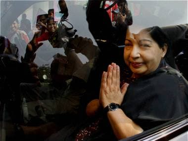 Former Tamil Nadu CM Jayalalithaa was convicted in the disproportionate assets case on Saturday. Agencies