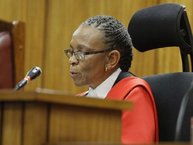 Cops up protection for judge in Pistorius trial after criticism