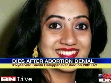 File image of Savita Hallapanavar. News18