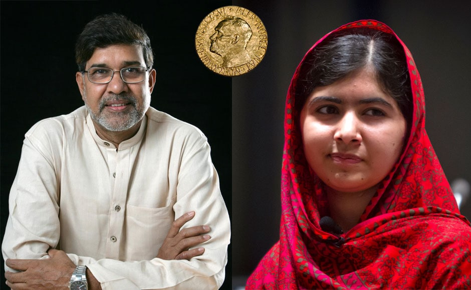 Photos: Indias Kailash Satyarthi and Pakistans Malala Yousafzai share 2014 Nobel Peace Prize