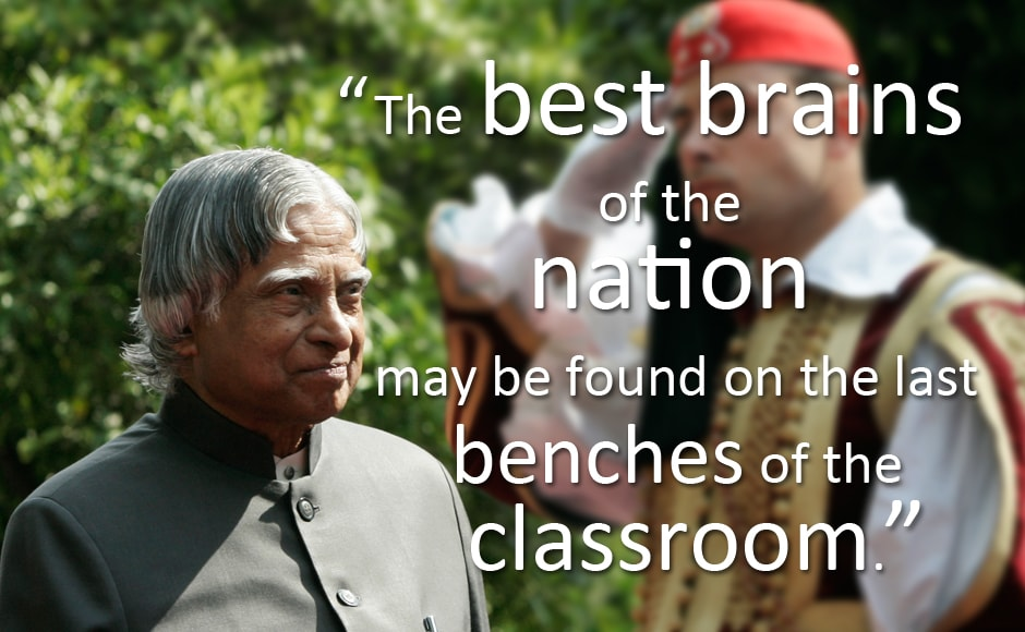 Happy 83rd Apj Abdul Kalam A Look At His Best Quotes On His Birthday Photos News Firstpost