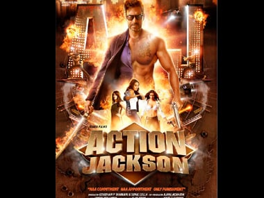 New Look: Ajay Devgn brings out tattoos, abs and babes in bras in Action Jackson