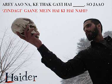 Haider is a brilliant political movie