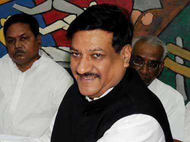 Former Maharashtra Chief Minister Prithviraj Chavan. Image courtesy PIB