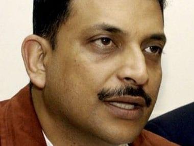 File image of Rajiv Pratap Rudy. AFP
