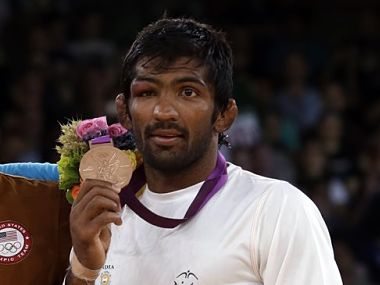 File photo of Yogeshwar Dutt. AP