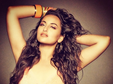 Sonakshi Sinha has a gift for weight critics - her middle finger!