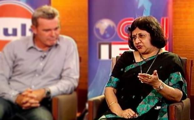 Arundhati Bhattacharya. IBNLive