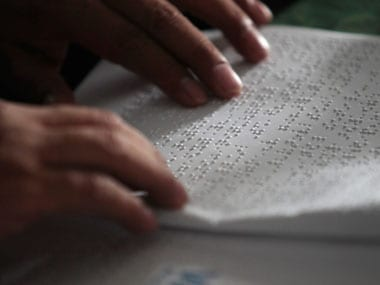 Delhi University installs special technology for blind students in libraries