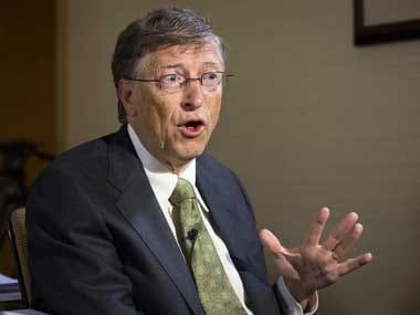 Microsoft founder Bill Gates. AP
