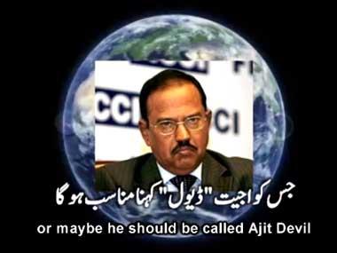 Ajit Doval, global terrorist: Hilarious Pak video reveals NSA head as criminal mastermind