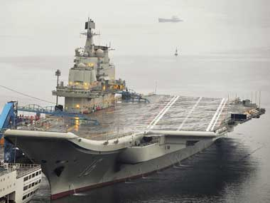 China's aircraft carrier Liaoning. Reuters