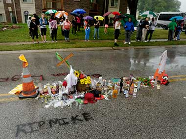 The jury has decided not to indict the police officer who shot Brown. AP