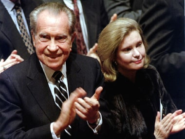 The story of George W Bushs disastrous date with Richard Nixons daughter