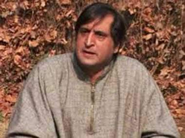 No pre-poll alliance with any party in Kashmir, says ex-separatist Sajjad Lone