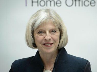 British Home Secretary Theresa May. AFP