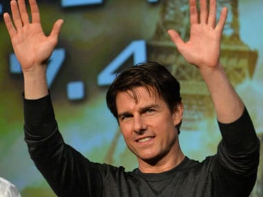 Tom Cruise. AFP.