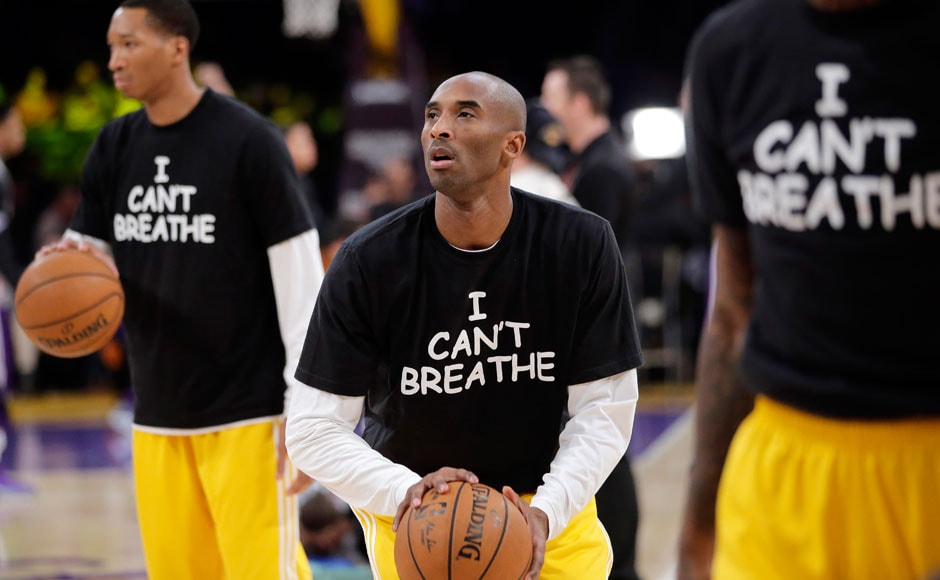 Photos: NBA stars wear 'I Can't Breathe' shirts, protest ...