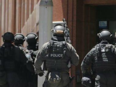 File image of Australian police. AP