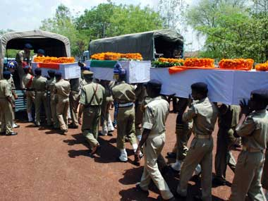 Six security personnel killed in IED blast in Chhattisgarhs Dantewada district; fifth explosive attack in three months