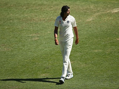 Ishant's bouncers were so ineffective that Johnson had time to pour himself a cup of tea before gliding a bouncer over the slips to the boundary. Getty