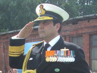 Admiral R.K. Dhowan. Image courtesy: PIB