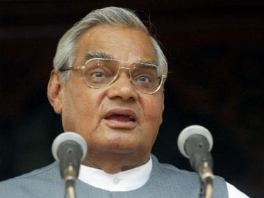 File image of Atal Bihari Vajpayee. Reuters