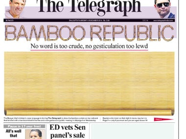 The Telegraph's 'bamboo curtain'.
