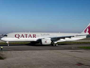 File image of Qatar Airways plane. AP