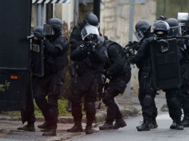 Charlie Hebdo attack: Shots fired, one taken hostage in French town