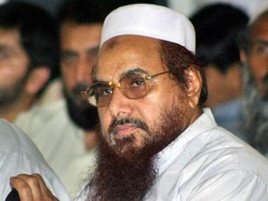 Jamaat-ud-Dawah chief Hafiz Saeed. Reuters