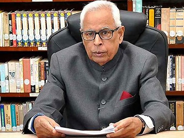 File image of Jammu and Kashmir governor NN Vohra. PTI.