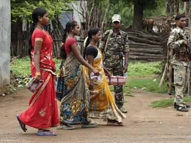 Four women Maoists, carrying rewards up to Rs 4 lakh, surrender in Odisha