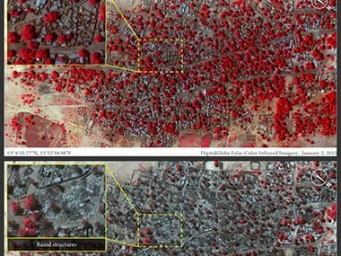 Catastrophic devastation: Satellite images reveal true scale of Boko Haram attack in Nigeria