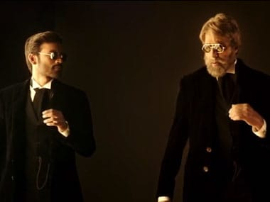 Trailer Watch: Dhanush, Amitabh are gripping in Balkis Shamitabh promo