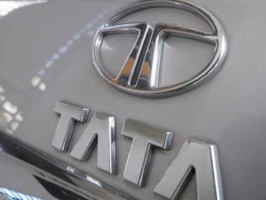Tata Motors logo. Reuters