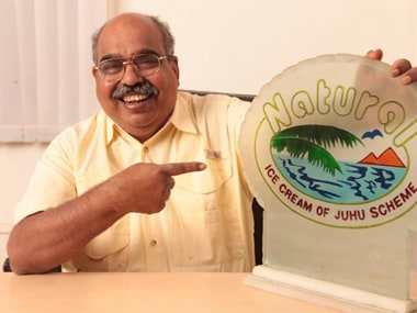 I wanted my ice creams to mimic my mother's cooking, says R S Kamath of Naturals