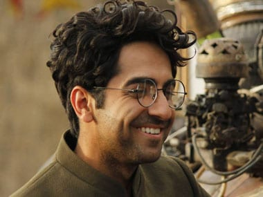 Hawaizaada review: Ayushmann flies around in Batsuit in this stupid film