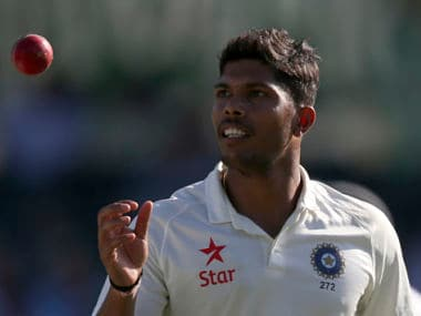 Umesh Yadav now owns Test cricket's most expensive record. AP
