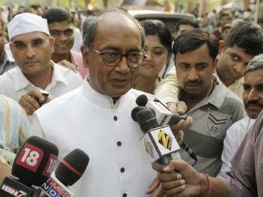 File image of Digvijaya Singh. AFP