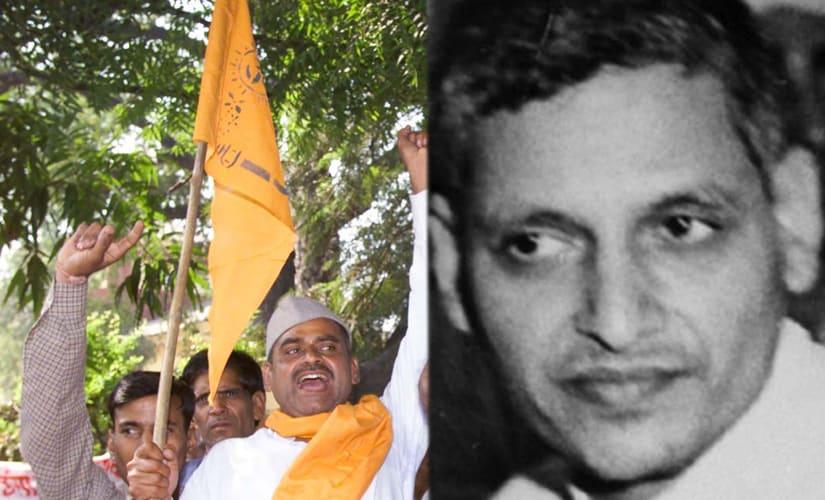 On Gandhi Jayanti, Hindu Mahasabha unveils Nathuram Godses first-ever statue in Meerut