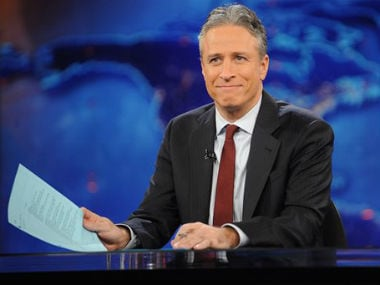 Jon Stewart. File photo. AP