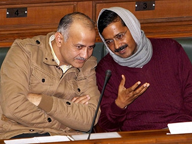 AAPs new cabinet: Manish Sisodia to run Delhi while Kejriwal expands party across India?