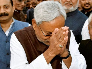 Nitish does a Modi, talks development as he prepares to take oath as Bihar CM