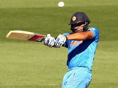 World Cup warm-up: Rohit century gives India first win on Australian tour