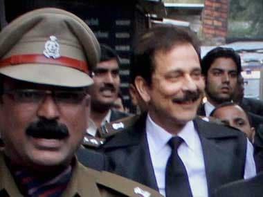 Roy is still in jail. PTI image